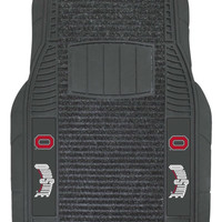 Ohio State Buckeyes Car Mats - Deluxe Set