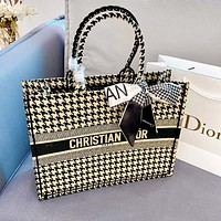 DIOR High Quality Fashion Women Shopping Bag Handbag Tote Shoulder Bag Satchel