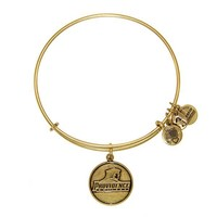 Alex and Ani Providence College™ Logo Charm Bangle - Russian Gold
