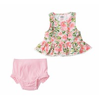 MUD PIE FLORAL TANKINI