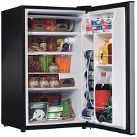 Hamilton Beach 3.5-cu-ft Single VCM Door Compact Refrigerator, Black - Walmart.com