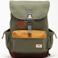 Vans Coyote Hills Rucksack School Backpack - Mens Backpacks - Green - NOSZ