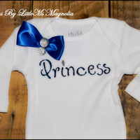 """Kids Clothes Baby Clothes """"Princess Sparkle"""" T Shirt or Baby Shower Gift"""