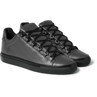 Balenciaga - Arena Textured-Leather Sneakers | MR PORTER