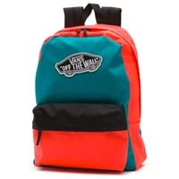 Vans Colorblock Realm Backpack (Tile Blue)