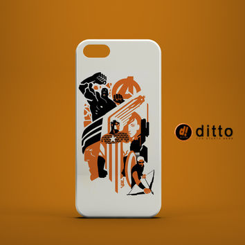 AVENGERS ASSEMBLE Custom Case for iPhone 6 6 Plus iPhone 5 5s 5c GalaxyS 3 4 & 5 6 and Note 3 4 5