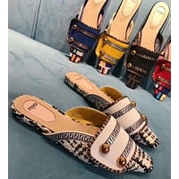 Fendi Fashion Slippers and Sandals-1