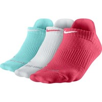 Nike Women's Dri-FIT Lightweight No Show Socks 3-Pack