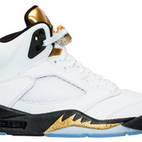 "Air Jordan Retro 5 ""Olympic Gold Coin"""