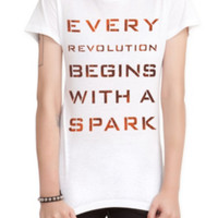 The Hunger Games: Catching Fire Revolution Spark Girls T-Shirt