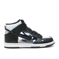 Comme Des Garcons Homme Plus Nike PVC High-Top Sneakers in Black | FWRD