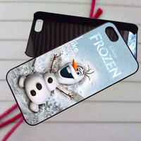 Olaf Frozen Disney Funny - case iPhone 4/4s,5,5s,5c,6,6+samsung s3,4,5,6