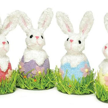 """12 Easter Bunnies - 8 """" H"""