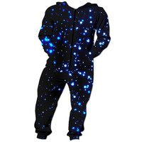 Bright blue night time Onesuit