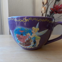 Disney Tinker Bell Pirate Ship Oversized Coffee Mug
