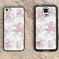 Floral Patterns iPhone Case-Flowers iPhone 5/5S Case,iPhone 4/4S Case,iPhone 5c Cases,Iphone 6 case,iPhone 6 plus cases,Samsung Galaxy S3/S4/S5-118