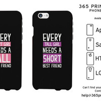 Short & Tall Girls Best Friend Matching Phone Cases - 365 Printing Inc