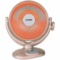 14 inch Energy-Saving Oscillating Dish Heater with Remote Control