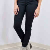 Starry Places Black Liquid Skinny Jeans