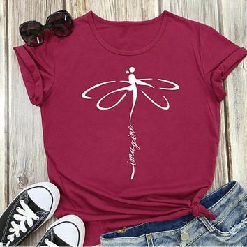 Warrior Dragonfly Graphic Tee