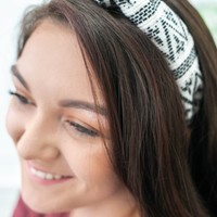 Knot Together Headband - Ivory