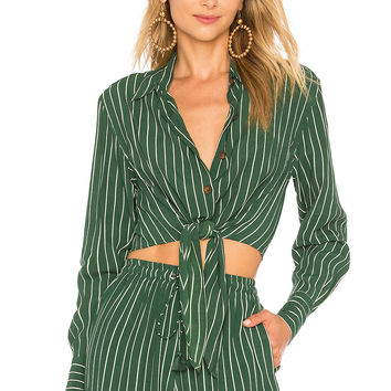 FAITHFULL THE BRAND Beau Rivage Top in Paseo Stripe