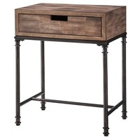 Threshold™ Mixed Material Side Table - Patchwork