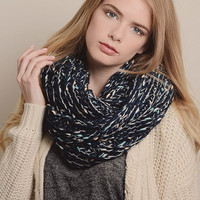 Colorful Woolen Knitted Scarf