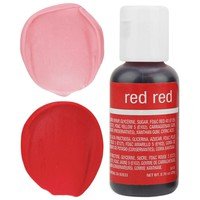Red Red Chefmaster Gel Food Coloring