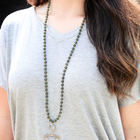The Chrissy Necklace, Forest   BPD