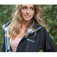 FieldTec Rain Jacket in Black by Southern Marsh