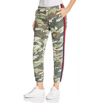 Mother the Misfit Side-Stripe Camo Pants Size 26
