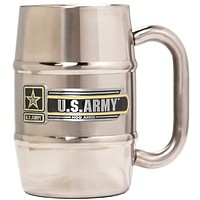 Army Stainless Steel Barrel Mug