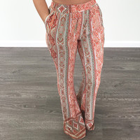 Print Casual Hot Sale Pants [11405555599]