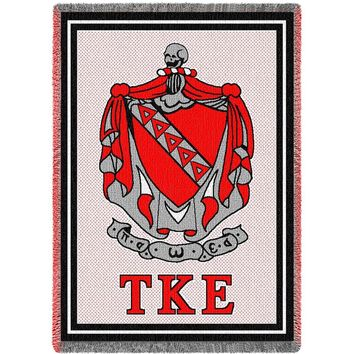 Tau Kappa Epsilon Afghan Throw Blanket