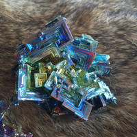 Large Bismuth Crystal Piece
