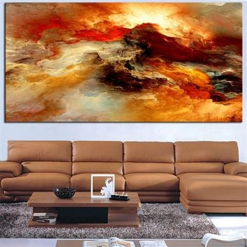 SALE Canvas Art Wall Decor Wall Art Painting Large Home Decor Wall Hangings Modern Art print Painted Light Brown No framed