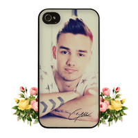 1D iPhone Case One Direction Liam Payne iPhone Case Signature iPhone 4 Case iPhone 4s Case iPhone 5 Case iPhone 5s Case S3 Case S4 Case