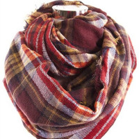 Bundle Me Up Scarf | Plum