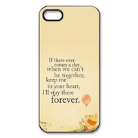 Customized Winnie the Pooh Hard Case for Apple IPhone 5/5S