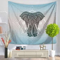 CAMMITEVER Elephant Tapestry Wall Hanging Decor Indian Home Hippie Bohemian Tapestry For Dorms