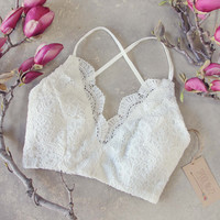 Soft Sands Lace Bra