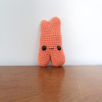 Theo the Thymus Plush - Crochet Amigurumi - Science Plushies - Stuffed Organs - Med Student Gift - Crocheted Organs - Anatomy Plushie