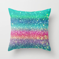 Summer Surf Throw Pillow by Lisa Argyropoulos