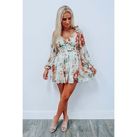 Fun With Florals Dress: Multi
