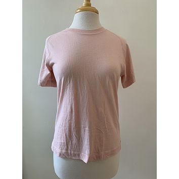 Everlane Pink Seamed T-Shirt