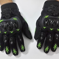 motorcycle gloves all the summer cross-country racing bike rider gloves anti fall