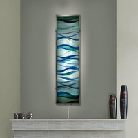 Placid Waves Wall Sconce Light (8809) - Illuminada