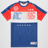 Young & Reckless Pass The Torch Mens Jersey Red/White/Blue  In Sizes