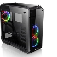 Thermaltake View 71 RGB 4-Sided Tempered Glass E-ATX Gaming Tower CA-1I7-00F1WN-01